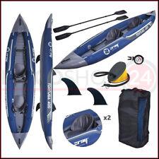 Jilong Z-Ray Tortuga Kayak Canoa Gonfiabile a 2 Posti - Blu (37330)