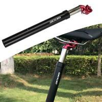 Amuminium MTB Road Bike Bicycle Saddle Seat Post Seatpost Hydraulic S Suspe J7K9