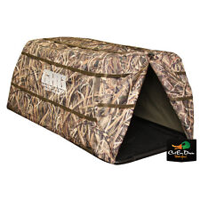 AVERY GREENHEAD GEAR GHG GROUND FORCE DOG POP UP BLIND SHADOW GRASS BLADES CAMO