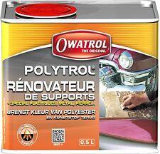Owatrol Polytrol Colour Restorer 500 ml 0.5 liter Plastic Paint GRP Metal New