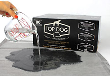 Top Dog Black Premium Puppy Pee Pads - Dog Training Pads with Quick-Dry Odor - -