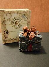 Boyds Uncle Bean's Treasure Box 83012 - Topper's Ornament Box w/Tangle McNibble