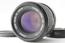 [NEAR MINT] Canon New FD 100mm f/2.8 MF Telephoto Lens from Japan