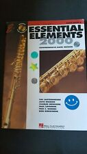 Essential Elements 2000 Flute Book 2 includes Cd