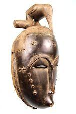 Art Africain Tribal Arts Premiers - Ancien Masque de Portage Yohoure - 36 Cms ++