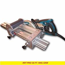Imt Professional Wet Cutting Makita Motor Rail, Track Saw for Granite-16 ft Rail