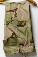 U.S. Military Issue Desert Camo Hot Weather BDU Trousers - Size X-Small/Reg