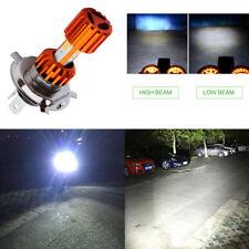 Motorcycle Scooter H4 COB LED Hi/Lo Beam Flood Headlight Driving Fog Light 18WX1