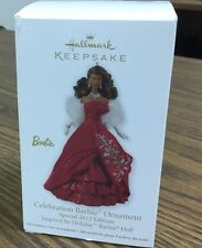 Hallmark Celebration Black Barbie Special Inspired By Holiday Barbie Doll 2012