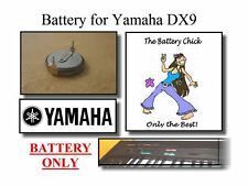 Battery for Yamaha DX9 Digital Synthesizer - Internal Memory Replacement Battery