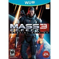 Mass Effect 3: Special Edition [Nintendo Wii U, NTSC, SciFi Action RPG] NEW