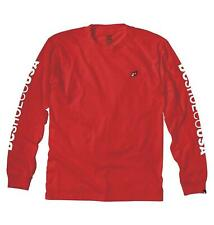 *NWT*DC SHOES SLEEVER MEN'S LONGSLEEVE T-SHIRT*RED*SIZE XX-LARGE*