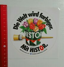 Aufkleber/Sticker: HISTOR Lacke SIGMA Coatings Holland (10081642)