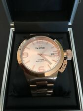 TW STEEL: CB231. CANTEEN. ROSE GOLD. 45mm. Bracelet. BNWT. 50 Percent Off