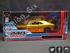 Maisto Prorodz 1:24 1969 Dodge Cargador R/t Oro Americano Músculo Nuevo En Caja