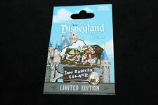 Disneyland 2015 A Piece of History LR Pin - Chip and Dale / Tom Sawyer Island