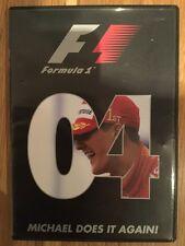 Formula One Review 2004 Michael Schumacher F1 (DVD, 2005) Alonso REGION 2