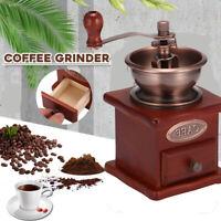 funktioniert! Keramik Kaffeemühle antik Nostalgie Retro Design Kaffee Mühle
