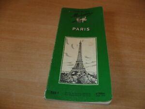 (BUR) GUIDE MICHELIN VERT  PARIS 1955