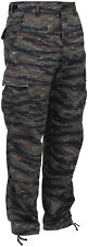 Tiger Stripe Camouflage Military BDU Cargo Bottoms Fatigue Trouser Camo Pants