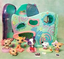 🎀 LITTLEST PET SHOP Daycare Playset with 6 LPS FIGURINES AND  Lot ACCESSORIES