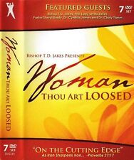 Woman Thou Art Loosed WTAL 2010 On the Cutting Edge - 7 Dvd - T.D. Jakes - Sale!