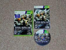 Steel Battalion: Heavy Armor Microsoft Xbox 360 Kinect Complete