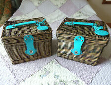 More details for 2 x m&s - the queen's 90th 'patron's lunch' insulated / thermal picnic baskets