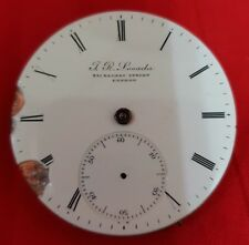 BEAUTIFUL MOVEMENT A KEY POCKET WATCH FOR REPIR OR PARTS - 41MM DIAMETER