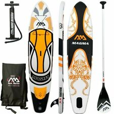 "Aqua Marina Magma 10'10"" (6'' Thick) Stand Up Paddle Board Inflatable SUP"
