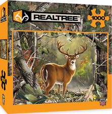 Realtree Backcountry Buck 1000 Piece Jigsaw Puzzle by Dona Gelsinge, Masterpiece