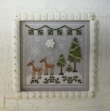 Country Cottage Needleworks-Snowy Cerf-Counted Cross Stitch Kit (Z0036)