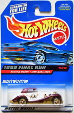 HOT WHEELS 1999 FINAL RUN RETIRING MODEL! MERCEDES 540K