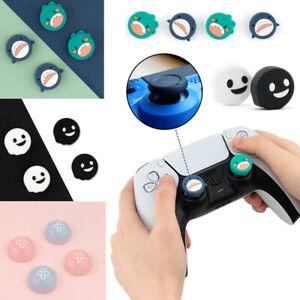 4pcs Anti-slip Controller Thumb Stick Grip Thumbstick Cap Cover For Xbox PS4 PS5