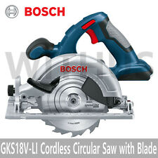 Bosch GKS 18V-LI Professional Cordless Circular Saw Blade Tool Kit with Blade