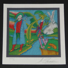 Mihail Chemiakin serigraph print, signed and #ed. Small edition of 50.