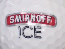 (1) SMIRNOFF VODKA LOGO GOLF BALL (RED GREY BLACK ICE)
