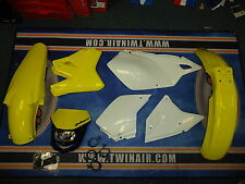New Acerbis Plastic Kit Halo Headlight DRZ 400 SM E S 00-14 Yellow/WT Plastics