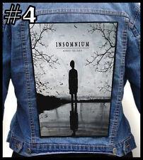 INSOMNIUM   --- Huge Jacket Back Patch Backpatch --- Various Designs