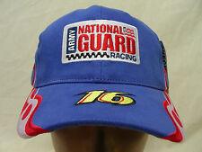 GREG BIFFLE - 16 - ARMY NATIONAL GUARD - NASCAR - ADJUSTABLE BALL CAP HAT!