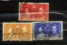 1937 Northern Rhodesia Coronation Complete Set