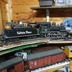 Bachmann Big Haulers (93419) G Scale WHITE PASS & YUKON locomotive  un Boxed
