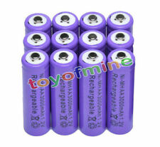 12x AA 3000mAH Ni-MH NiMH Recycle Rechargeable Battery