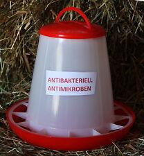 1 kg Futterautomat Hühner ANTIBAKTERIELL Futterspender Küken Wachtel Hühner
