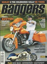 Baggers motorcycle magazine Roger Kustom Ness retro road king Used bikes Airbox