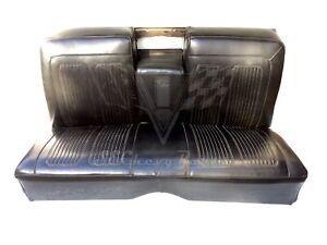 1961-1964 Pontiac Grand Prix 2 Door Hardtop Rear Seat Set USED