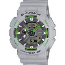 Casio G-Shock, GA-110TS-8A3ER, Grey & Green, World Time, Backlight, Stopwatch