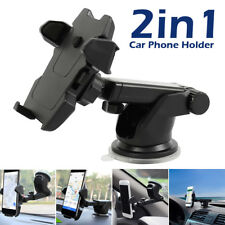 360º Car Holder Windshield Dashboard 2 in 1 Mount Suction Cup For Cell Phone