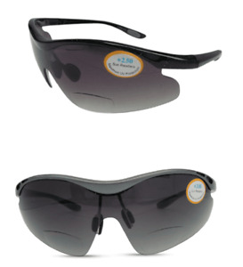 Bifocal Fishing Wrap Around Sunglasses Sunreaders 100% UV Protection