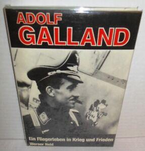 BOOK WW2 Adolf Galland An Aviators Life in War & Peace 1983 op 1st German Ed